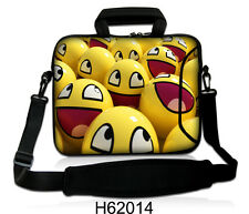 "17"" LAPTOP BAG WITH HANDLE & SHOULDER STRAP 4 ALL MAKES *FREE POST*HAPPY FACE*"