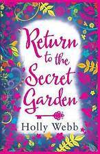 Return to the Secret Garden, Webb, Holly, New Book