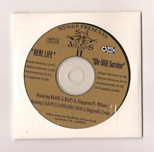 SOUL ASSASSINS - Real life / We will survive CD 8 track EP SEALED Kool G Rap