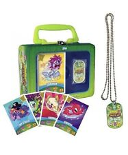 Collector Tin Moshi Monster series 3: Code Breakers Card + Dog Tag Chain