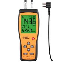 1.0-300mm ultrasonic thickness gauge f measuring thickness of steel paper etc.