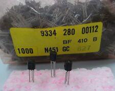 20 Stück / 20 pieces  BF410B JFET N-CHANNEL VHF 20V 30mA 300mW  Neu NEW ~