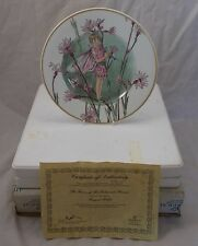 Villeroy & and Boch FAIRIES OF THE FIELDS & FLOWERS - Ragged Robin BOXED CERT