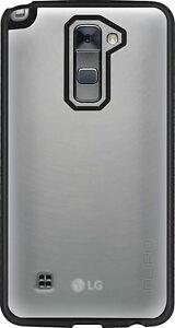 NEW Incipio Octane Series Hybrid Case for LG Stylo 2 - Frost / Black