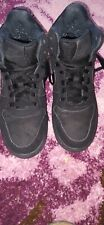 Black nike MENS/BOYS high tops Size 5.5. FREE POSTAGE