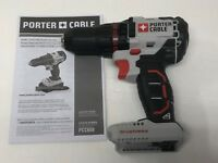 "Porter Cable PCC608 20V 20 VOLT Max Lithium-Ion Brushless 1/2"" Drill Driver NEW"