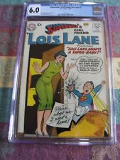 Superman's Girlfriend Lois Lane #3, CGC 6.0, Off-White to White Pages