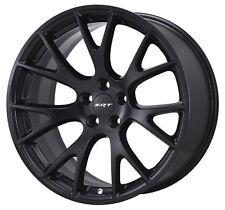 "20"" Fits Hellcat Wheels Satin Black SRT8 Dodge Challenger Charger 20x9"" Rims"