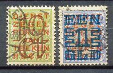 Nederland  132 - 133 gebruikt