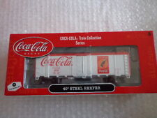 COCA COLA ATHEARN 1/87 SCALE 40' STEEL REEFER CAR #2 OF 6