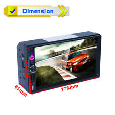 "7"" 1080P Car MP5 Player Built-in GPS Navigator Mirror Link SWC Remote AU MAPS"