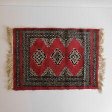 Tapis d'Orient laine wool rug handmade fait main art déco KARACHI Pakistan