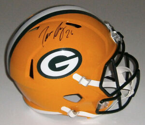 PACKERS Darnell Savage signed Full Size Speed Replica helmet w/ #26 JSA COA AUTO
