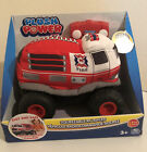 Spin Master Plush Power Fire Truck Remote Control Soft Body 2 Way Steering-NEW