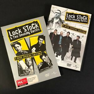 Lock Stock and & Two Smoking Barrels DVD Movie, 1998 2 Disc Edition REGION 4 PAL