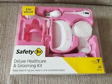 Safety 1st Deluxe Healthcare and Grooming Kit Pink 24 Pieces ~ New