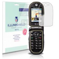 iLLumiShield Anti-Glare Matte Screen Protector 3x for Motorola TUNDRA VA76r
