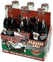 Coca-Cola Classic Cal Coke 8oz Bottles Cal Ripken Jr 1995 Record Breaking Year