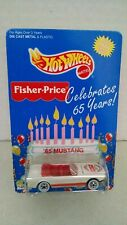 Hot Wheels #14903 Fisher Price 65 Years 1965 Mustang White 1/64 scale