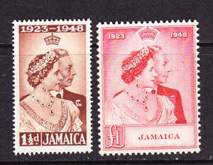 Jamaica 1948 Silver Wedding  LMM    L5547