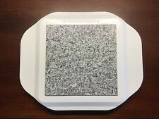 Vintage Microwaveable Hot Plate Granite Square 6 X 6 Core Heating