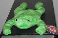 Ty Beanie Baby ~ LEGS the Frog ~ MINT with MINT TAGS ~ RETIRED