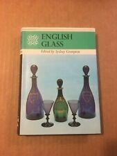 English Glass ~ Edited by Sydney Crompton ~ 1972 ~ 0706310292 ~ HC G