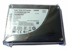 "NEW Intel Solid State Drive 520 Series 240GB Internal SSD 2.5"" SSDSC2BW240A301"
