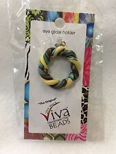 Splash 69309 Eyeglass Holder Viva Beads Clay Twisted/Spiral Turquoise