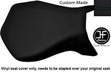 BLACK VINYL CUSTOM FOR MV AGUSTA F4 750 1000 99-09 FRONT SEAT COVER ONLY
