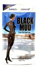 Beauty Mineral Black Mud from Dead Sea for Deep Body Scrub,Say Goodbye Dry Skin