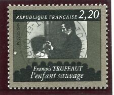STAMP / TIMBRE FRANCE OBLITERE N° 2442 CINEMA FRANCOIS TRUFFAUT