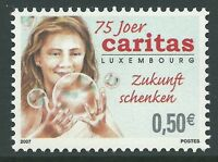 Luxembourg 2007 - Caritas 75th Anniversary Woman - Sc 1199 MNH