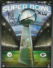 2011 Super Bowl XLV Program~SIGNED by North Texas CEO Host Committee Bill Lively