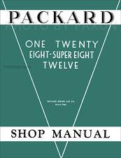 Packard Shop Manual 1932 1933 1934 1935 1936 Repair Service Book 120 8 12