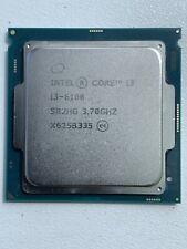 Intel Core i3-6100 3.7GHz Socket 1151 SR2HG 6th Gen CPU procesador de escritorio