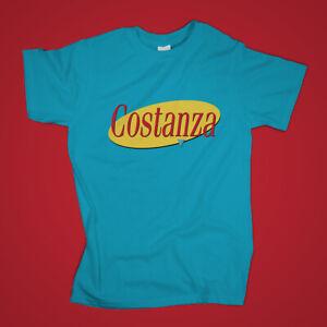 George Costanza Tshirt Logo Seinfeld TV Sitcom Series Tee