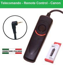 TELECOMANDO con filo per CANON EOS 700D 650D 600D 77D 80D 70D 100D M5 60 RS-60E3
