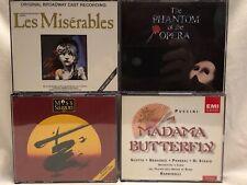 Broadway Hits Cd'sMiss Saigon Les Misérable Madam Butterfly Phantom Of The Opera