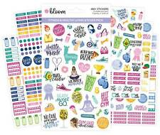 STICKER SHEETS, FITNESS & HEALTHY LIVING STICKERS