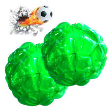 """2 X 36"""" 90cm PVC Inflatable Bubble Ball Toy Bumper Zorb Soccer Ball Sumo Suits"""