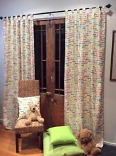 Novelty Unlined Panel Window Curtains