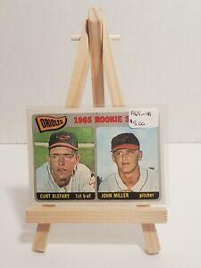 Vintage * MLB * Baltimore Orioles * 1965 Topps * Curt Blefary & John Miller (RC)