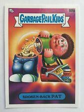Garbage Pail Kids Late To School Sticker 90A BROKEN-BACK PAT