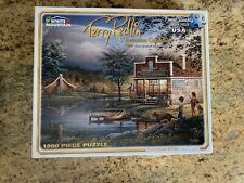 Terry Redlin--Summertime  1000 Piece Jigsaw Puzzle Used Great Condition