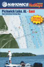 Navionics Waterproof Premium HotMaps Pickwick Lake Bundle East + West MPS6025