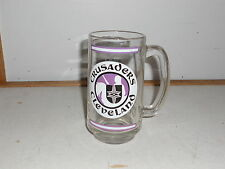October 11, 1972 Cleveland Crusaders World Premier Major League Hockey Glass Mug