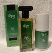 Avon ELEGANTE 2 Pc Gift Set: Spray Cologne for Women 1.7fl.oz. & Deodorant