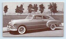 1949 PONTIAC STREAMLINER 2-Door Sedan Car Advertising Postcard