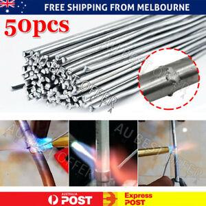 10-50Pcs Aluminium Low Temp Welding Rods Easy Brazing Stick Durable Repair AU